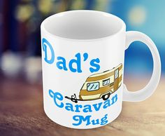 Dad's Caravan Mug Personalized Mug Give Any Name . by MugandMore