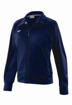 Speedo Womens Female Sonic WarmUp Jacket Navy XLarge >>> See this great product by click affiliate link Amazon.com