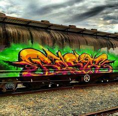 Basix Graffiti Piece, Graffiti Drawing, Street Art Graffiti, Graffiti Alphabet, Graffiti Lettering, Graffiti Tagging, S Bahn, Wildstyle, Train Car