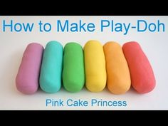 Best Play Doh Recipe! How to Make Easy Play-Doh by Pink Cake Princess - YouTube