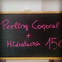 Sólo esta semana Peeling corporal + hidratación por sólo 15€