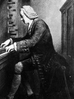 An poster sized print, approx (other products available) - JOHANN SEBASTIAN BACH German organist and composer at the keyboard - Image supplied by Mary Evans Prints Online - Poster printed in the USA Fine Art Prints, Framed Prints, Canvas Prints, Johann Bach, Sebastien Bach, Gospel Of Luke, Rhapsody In Blue, Music Score, Online Images
