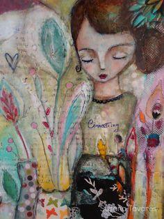 Atelier Susana Tavares: Painting Process + Connecting