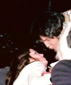 Elvis and a fan