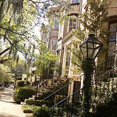 So nice to take a stroll through Savannah in the Spring!