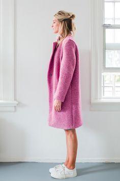 Anita de Groot pink coat