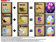 DragonVale Breeding Chart | DragonVale » DragonVale Breeding Guides » DragonVale Breeding Guide ...