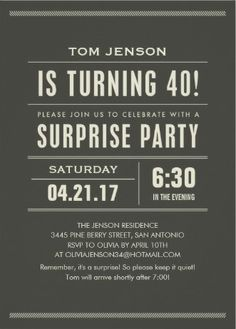 22 Best Mens Birthday Party Invitations Images Birthday Ideas