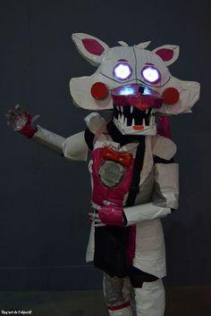 #funtimefoxy #cosplay #animatronics #fnafsisterlocation