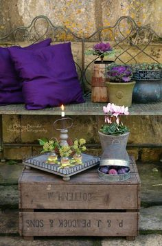 Restful, rustic little corner From: Ana Rosa, please visit