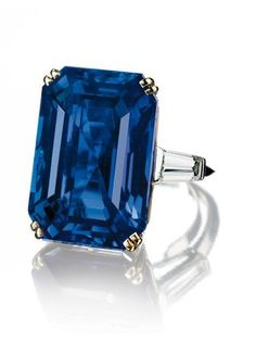 A Sapphire and Diamond Ring, Mounted by Boucheron. 31.21 carats.