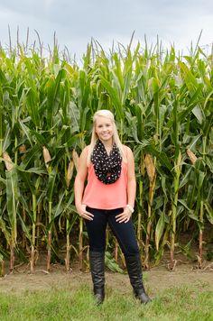 Mad Photo and Design Senior Photography | Le Mars, IA - #corn #field #farm #senior #photos