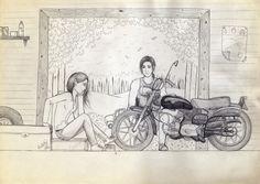 Jacob y Bella by constanzaortiz