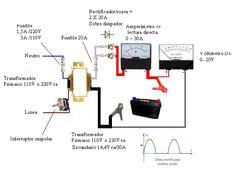 cargador de baterias 12V - Electrónica en general - YoReparo