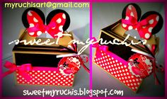 Fiesta Minnie, Fiestas infantiles, Dulceros Minnie, ideas Fiesta Minnie sweetmyruchis.blogspot.com