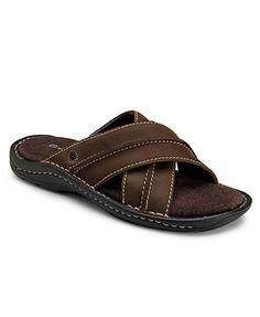 Image detail for -Rockport Shoes, Elbery Criss Cross Slide Sandals