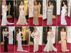 Las tendencias de moda de los Oscars 2014   Vogue