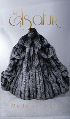 Silver Fox Extraordinaire from Elsa Fur of Italy.