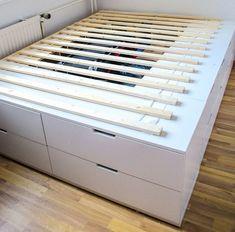 Hochbett Mit Stauraum Selber Bauen Elegant 25 Best Ideas About Bett 180x200  Pinterest Betten Stauraum