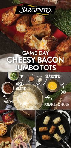 Promoted by Sargento®. Make any game day party pop with these cheese-stuffed tater tot appetizers. Your crowd will go wild for their crispy, golden-brown outside and melty, mouthwatering inside. Make a variety of flavors to please any palate using our Snack Bites® cheese snacks, including big flavors like Wisconsin Sharp Cheddar and Savory Colby-Pepper Jack. Get the simple step-by-step recipe on Sargento.com. Thank you @rustedladle for the recipe!