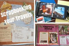 Scrapbooking Your Travels: Tips and Tricks