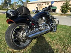 VROD Muscle - 2013 with 260mm Rear Tire.