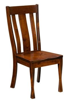 Amish Lawson Side Dining Chair - Quick Ship