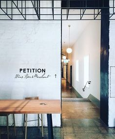 """128 Likes, 3 Comments - PETITION WINE BAR & MERCHANT (@petitionwine) on Instagram: """"The sign says it all: this way to wine. #SundayInTheStateBuildings @sophiecottrell – """""""