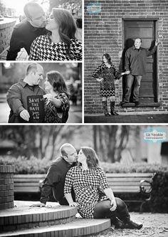 Marietta Square Engagement Photos   Jen + Jason » Liz Love Laugh