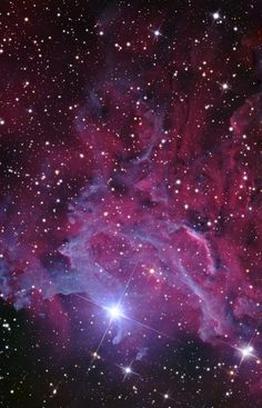 Flaming Star Nebula This is the magnificent IC 405 or Flaming Star Nebula. It's a diffuse nebula located in the Auriga constellation. The nebula mainly surrounds the star AE Aurigae which gives the impression that the star is burning. (Credit: Adam Block/Mount Lemmon SkyCenter/University of Arizona)
