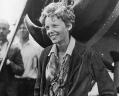 Amelia Earhart. . .certainly one of the most fearless persons in world history.  I think that in order to be that brave, you have not not care much one way or the other, if you live or if you die.
