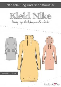 fadenkäfer Schnittmuster Damen Kleid Nike