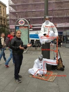 Here's the Crazy Secret Behind How Those Street Performers Levitate