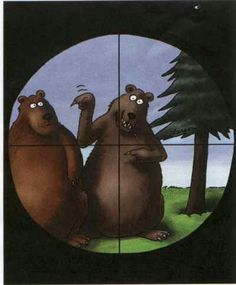 Far Side Bear