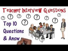 Teacher Interview Questions: Top Ten Q&As - YouTube Teaching History, Student Teaching, Math Teacher, Teacher Interview Questions, Teacher Interviews, Jobs For Teachers, Special Education Teacher, Teaching Philosophy, This Or That Questions