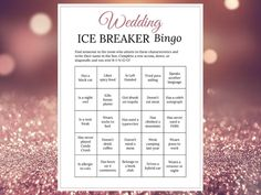 Bridal Shower Ice Breaker Game Rose Gold Wedding Human Bingo Cards Printable Get to Know You Games For Fun, Some Games, Printable Cards, Party Printables, Ice Breaker Bingo, Human Bingo, Wedding Party Games, Wedding Ideas, Rose Gold Theme