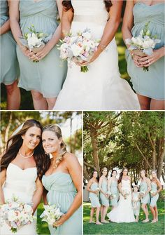 I like the color balance between the white and color in the bridal bouquet