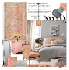 """""""Tranquility"""" by arethaman ❤ liked on Polyvore featuring interior, interiors, interior design, home, home decor, interior decorating, Better Homes and Gardens, Cooper Classics, Nearly Natural and DKNY"""