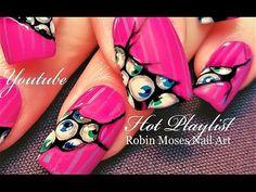 HOT Nails Playlist | Neon Nail Art hand painted Designs! - YouTube Neon Nail Art, Neon Nails, Diy Nails, Nail Art Designs, Paint Designs, Evil Eye Nails, Acrylic Nails At Home, Robin Moses, Nail Art Videos