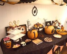 halloween first birthday party pictures | Halloween 1st birthday party