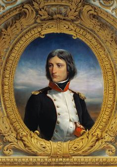 Napoleon Bonaparte (1769-1821) as Lieutenant Colonel of the 1st Battalion of Corsica by Felix Philippoteaux (French 1815-1884)