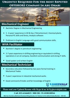 Urgently Required Petrophysicist For The Most Reputed Offshore