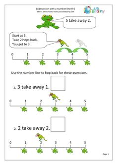 ... maths worksheet more frog book math worksheets numbers maths for seth