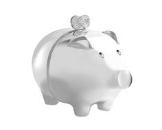 Shop Wedgwood - Vera Wang Infinity Piggy Bank at Peter's of Kensington. View our range of Wedgwood online. Why in the world would you shop anywhere else for Wedgwood? Baby Piggy Banks, Baby Shower Gifts, Baby Gifts, Pig Bank, Money Bank, Christening Gifts, Classic Elegance, Wedgwood, Vera Wang