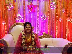 #real #wedding  #decoration #bride  #bridedress #makeup #makeover   #holydelights #contactus +91 9830348396 OR #visitus www.holydelights.com