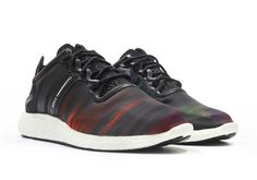 Things get colorful on this latest edition of the adidas Y-3 Yohji Run Boost, featuring a graphic upper easily comparable to the northern lights. The colorful night sky phenomenon is seen across the graphic textile upper of mastermind Yohji Yamamoto's … Continue reading →