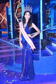 #MissIndia 1st runners up #AafreenVaz says 'My main focus is working on my international pageant and working on the EDBF movement'.