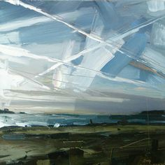 "Hester Berry | ""Sun dog and Contrails, Instow"