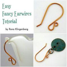 Easy earwires tutorial