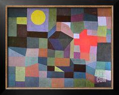 Fire at Full Moon, 1933 Art Print by Paul Klee at Art.com